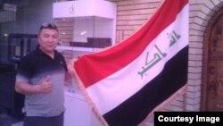 Ирактың бокс ұлттық құрамасын жаттықтыратын қазақ бапкері Болат Ниязымбетов. Сурет бапкердің жеке мұрағатынан алынды.