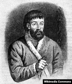 Омелян Пугачов (1742–1775) – донський козацький отаман, один із керівників селянської війни на землях Російської імперії у 1773–1775 роках