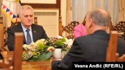 Predsednik Srbije Tomislav Nikolić iNikolaj Patrušev, sekretar ruskog Saveta bezbednosti