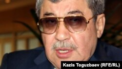 Гани Касымов, депутат сената парламента Казахстана. Алматы, 1 июля 2011 года.