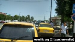 Uzbekistan - taxi
