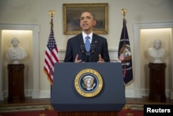 Барак Обама объявляет о смене политики в отношении Кубы. 17 декабря