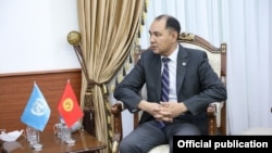 Нуран Ниязалиев, тышкы иштер министринин орун басары.