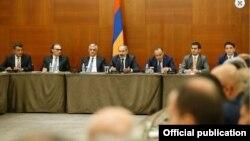 Վարչապետ Նիկոլ Փաշինյանի հանդիպումը հայազգի գործարարների հետ Մոսկվայում, 8-ը սեպտեմբերի, 2018թ.