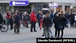 Protest u Bihaću