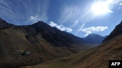 Тянь-Шань тауы (Көрнекі сурет).