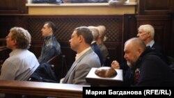 """Обвиняемые делу о вымогательстве акций """"Разреза """"Инской"""""""