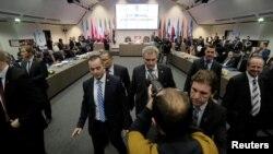 Встреча представителей стран-участниц ОПЕК.