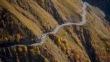 Georgia - Tusheti road - screen grab