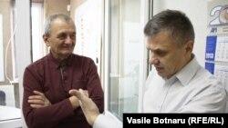 Arcadie Bărbăroşie şi Igor Boţan