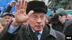 Kryeministri i Ukrainës, Mykola Azarov.