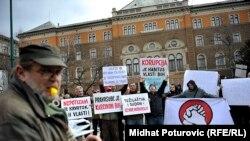 Protest u Sarajevu 10. marta