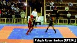 مشاركة عراقية في البطولة السابقة للكونغ فو