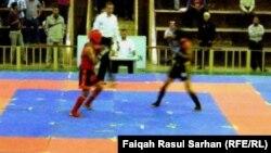 جانب من فعاليات البطولة العربية السادسة لرياضة وشو كونغ فو في عمّان