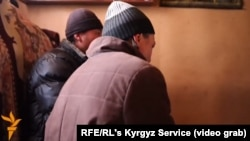 Yaqyn Inkar members said being on video is a sin in Islam and asked that their faces not be filmed during an interview by RFE/RL's Kyrgyz Service.