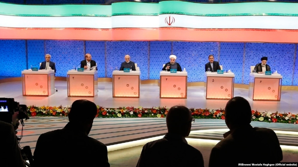 The third and final presidential debate was aired live on Iran's state-controlled television on May 12 ahead of the vote on May 19.