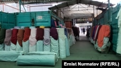 «Мадина» базары. Архивдик сүрөт.