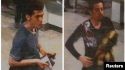 Фото двух молодых людей, которые летели в самолёте по украденным паспортам