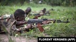 Центральноафриканская Республика, бойцы правительственной армии