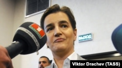 "Serbian Prime Minister Ana Brnabic: ""We can be even more efficient in the reforms that we conduct."""