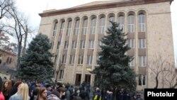 Armenia -- The Constitutional Court building in Yerevan, December 27, 2019.