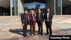 وفد الأمانة العامة للمجلس الشعبي الكلداني السرياني الآشورري الى البرلمان الأوروبي