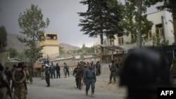آرشیف، نیروهای امنیتی در ولسوالی پغمان