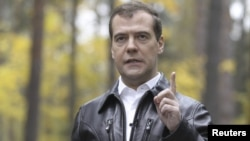 Прем'єр-міністр Росії Дмитро Медведєв