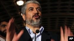 خالد مشعل، رئیس دفتر سیاسی حماس،در سوریه
