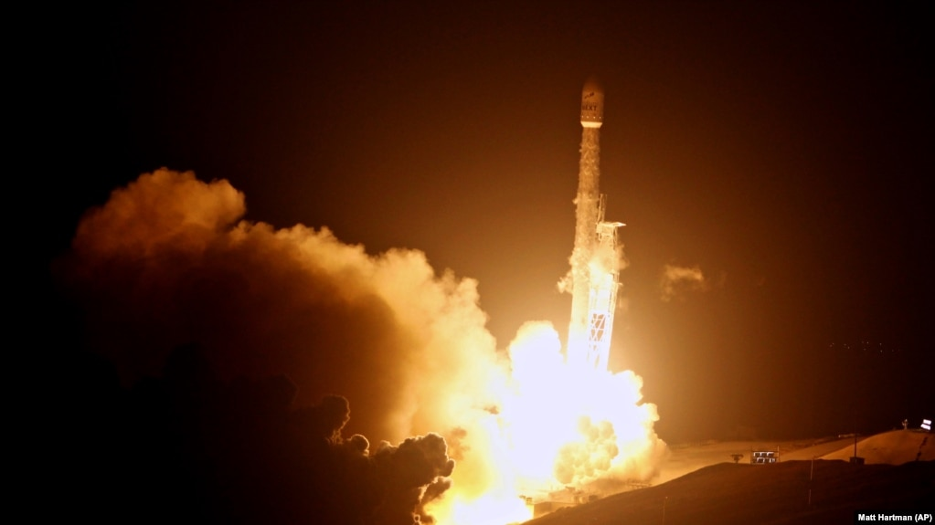 SpaceX произвела первый запуск в 2018 году