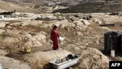 یکی از بادیهنشینان فلسطینی در اسرائیل.