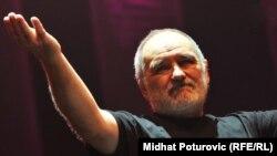 Đorđe Balašević na koncertu u Sarajevu 2011. godine