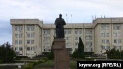 Памятник Т.Г. Шевченко в Севастополе
