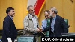 علی لاریجانی و مسعود پزشکیان