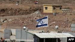 Пограничный пост в районе нападения на израильтян у Эйлата