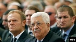Palestinski predsjednik Mahmud Abas prošle sedmice, 30. septembra, u Jerusalimu, na sahrani Shimona Peresa