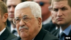 Palestinian Authority President Mahmud Abbas (file photo)