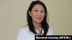 Куралай Канафиянова, заведующая приемно-консультативным отделением Казахского научно-исследовательского института онкологии и радиологии. Алматы, 22 октября 2016 года.