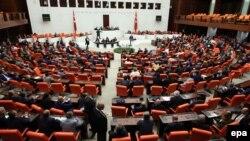 Parlamenti turk. Foto nga arkivi