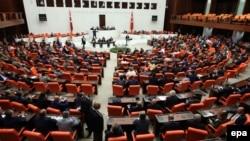 Թուրքիայի խորհրդարանի նիստերի դահլիճը, արխիվ: