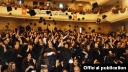 Հանդիսավոր միջոցառում Հայաստանի ամերիկյան համալսարանում, արխիվ
