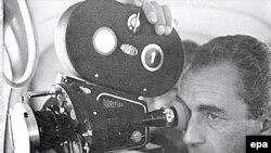 Микеланджело Антониони за работой. 1960-ые годы.