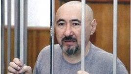 Арон Атабек на суде по делу о событиях в Шаныраке. Алматы, 5 октября 2007 года.