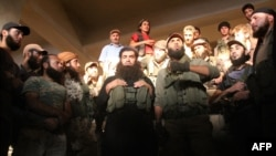 Fighters from the Al-Nusra Front in Syria