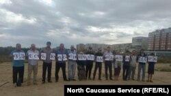 Каспийск, акция протеста 11 сентября 2019 года