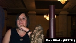 "Mirjana Đurđević, dobitnica nagrade ""Meša Selimović"", 04. septembar 2010."
