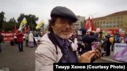 Новосибирский блогер Тимур Ханов