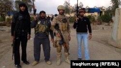 قوات أمنية ومقاتلو عشائر في الخالدية