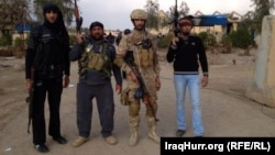 Iraqi security forces and tribal militias take part in antimilitant operations in Anbar Province. (file photo)