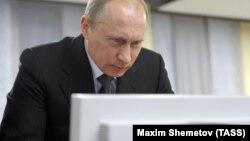 Президент Росії Володимир Путін. Архівне фото